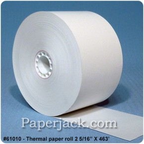 Thermal Paper Rolls, #61010 - Case of 27 rolls