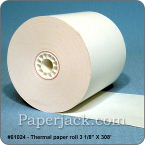 Thermal Paper Rolls, #61024 - Case of 50 rolls