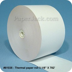 Thermal Paper Rolls, #61035 - Case of 18 rolls