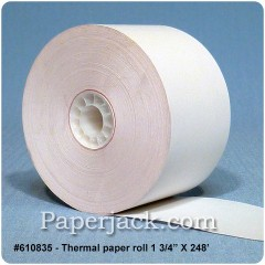 Thermal Paper Rolls, #610835 - Case of 50