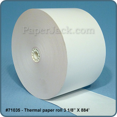 Thermal Paper Rolls, #71035 - Case of 18 rolls